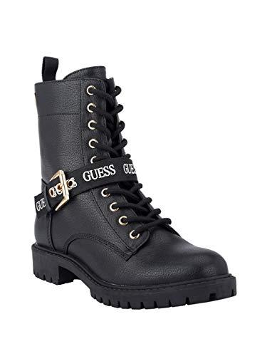 GUESS Factory Paulla Combat Booties Black Multi