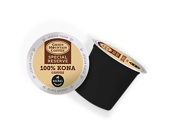 Green Mountain Special Reserve 100% Kona Coffee, 16 k-cups