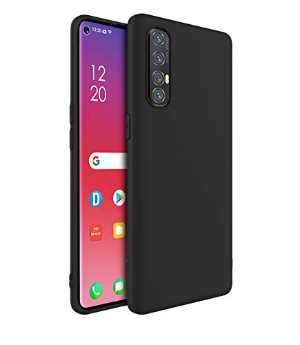 Prime Retail Back Case Cover for Oppo Reno 3 Pro - EXLUSIVE Silicon Pudding Shockproof Slim Back Cover Case for Oppo Reno 3 Pro 7