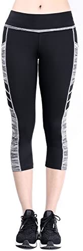 Sugar Pocket Women's Workout Leggings Running Tights Yoga Pants 2