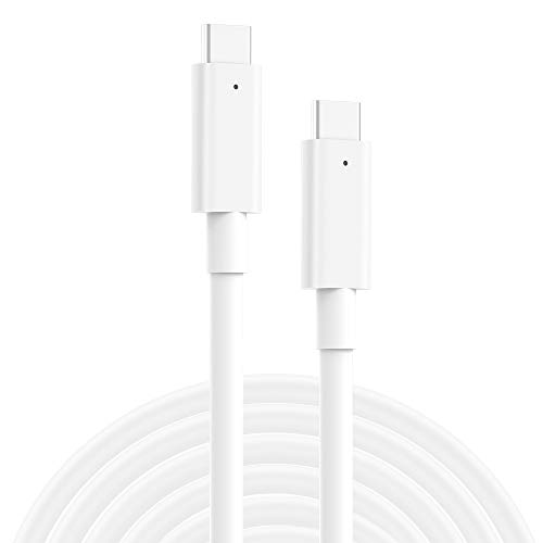 SZPOWER USB C to USB C Charging Cable, Cord Replacement for MacBook Pro, New MacBook Air, 2018 iPad Pro 12.9, 11, Google Pixel 2/3/2 XL/3 XL, Nexus 6P, All PD USB C Charger, USB-IF, 6.6ft