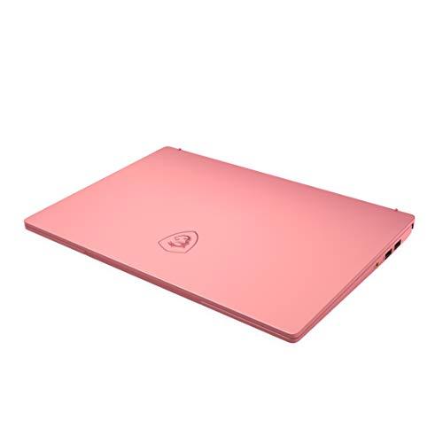 MSI Prestige 14 A10RAS-076IN Intel Core i5-10210U  10th Gen 14-inch Laptop(16GB/512GB NVMe SSD/Windows 10 Home/MX330, 2GB Graphics/Pink/1.29Kg )9S7-14C213-076 17