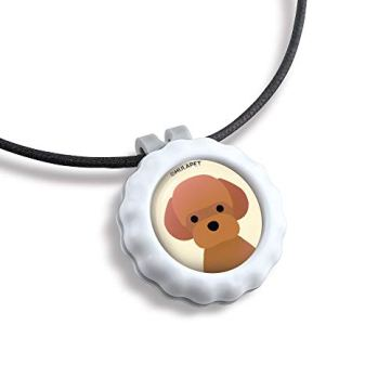 HOLDZOO-Aromatherapy-Necklace-for-Frightened-Stressed-Anxious-Dog-Poodle-Design