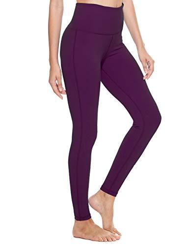 Cotton yoga pants high waist