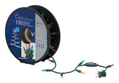 Celebrations 40756-71 LED Light Bulbs On A Reel, 37', Multi-Color