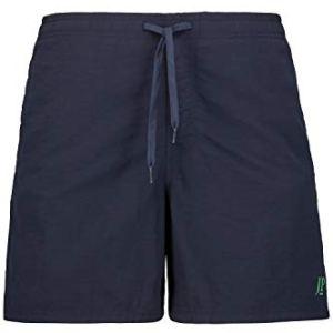 JP 1880 702532 – Costume da bagno da uomo, taglie forti fino a 7XL, vita elastica, slip interno e mezza lunghezza…
