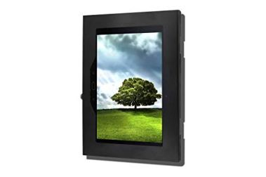 TABcare-Locking-Anti-Theft-Metal-Case-for-Samsung-Galaxy-TAB-S2-97-Tablet-for-Kiosk-POS-Store-Show-Display-Time-Clock-TAB-S2-97-Black