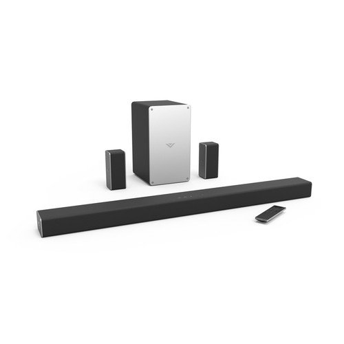 VIZIO SB3651-E6B 5.1 Soundbar Home Speaker, Black (Manufacturer Renewed)