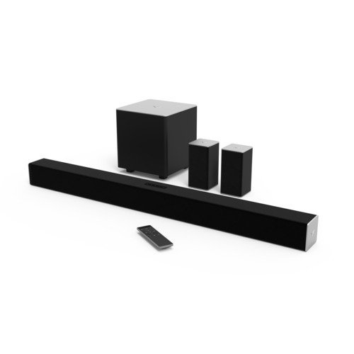 VIZIO SB3851-C0 38-Inch 5.1 Channel Sound Bar with Wireless Subwoofer and Satellite Speakers (Certified Refurbished)