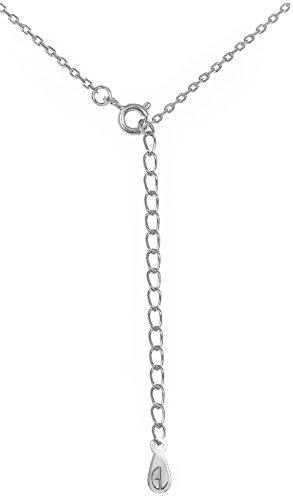 Silver sideways cross pendant necklace 925 sterling silver womens silver sideways cross pendant necklace aloadofball Gallery