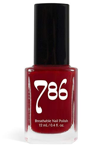 Buy 786 Cosmetics Agra Red Vegan Nail Polish Cruelty Free 11 Free Halal Nail Polish Fast Drying Nail Polish Best Red Nail Polish Online At Low Prices In India Amazon In