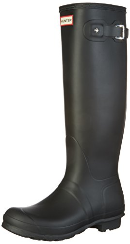 Hunter Women's Original Tall Wellington Boots, Black - 8 B(M) US