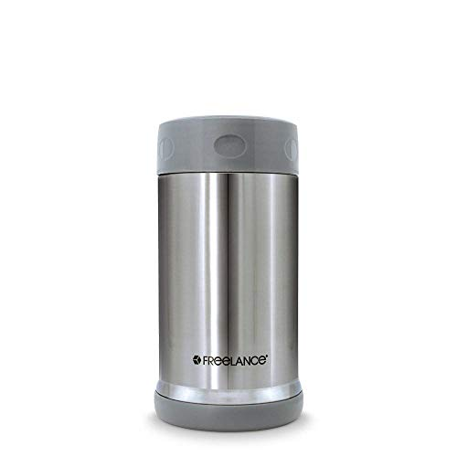 31ChZNVfrbL - Freelance Tomahawk Vacuum Insulated Stainless Steel Flask, Water Beverage Travel Bottle, 500 ml, Silver (1 Year Warranty)
