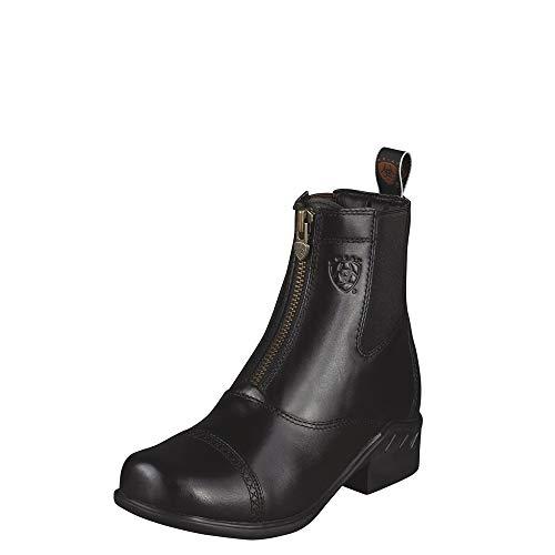 ARIAT Women's Heritage Rt Zip Paddock Paddock Boot Black Size 9.5 B/Medium Us