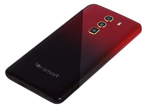 31CtLmVwiUL - Xifo Ismart I1 Epic 4G Volte 5.5 Inch Display 4G Smartphone (2GB RAM, 16GB Storage) in Red Black Colour