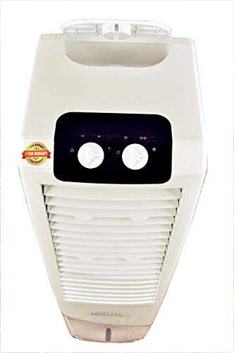 31D4R405RWL - Himalaya Coolers Personal Room Air Cooler with Silent Fan and Honeycomb Pads (40 L Capacity, White)