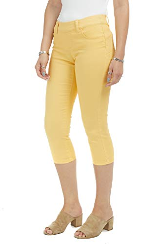 Suko Jeans Women's Denim Capris - Pull On – Stretch 1 Fashion Online Shop Gifts for her Gifts for him womens full figure