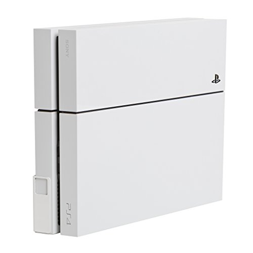 HIDEit 4 Mount (White) - PS4 Original Wall Mount - Made in The USA
