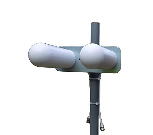 Proxicast 3G/4G/LTE 18 dBi MIMO Yagi Double Bullet Shaped High Gain Fixed Mount Outdoor Directional Antenna