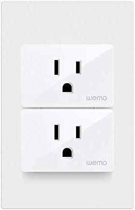 Wemo Smart Plug (Simple Setup Smart Outlet for Smart Home, Control Lights and Devices Remotely Works w/Alexa, Google Assistant, Apple HomeKit)(Pack of 1) 20