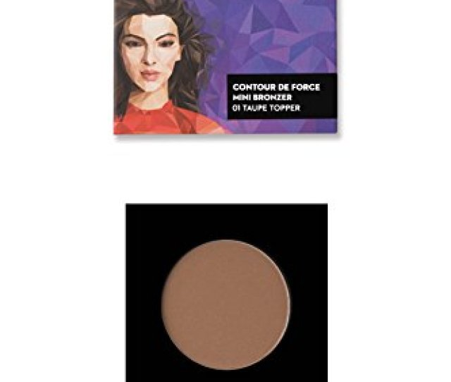 Buy Sugar Cosmetics Contour De Force Mini Bronzer 01 Taupe Topper 4 G Brown Grey Online At Low Prices In India Amazon In