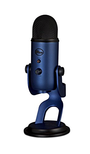 Blue Yeti USB Microphone - Midnight Blue