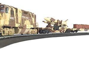 Bachmann Trains – Strike Force Ready To Run Electric Train Set – HO Scale 31E3yQn03TL