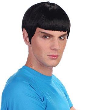 Black Men's Space Man Wig