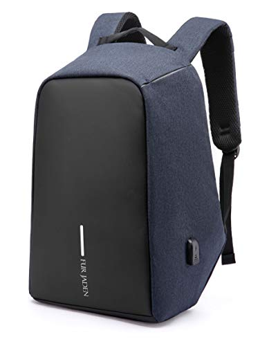 31EO+xCLccL - Fur Jaden Anti Theft Water Repellent 15.6 Inch Laptop Backpack Bag with USB Charging Port