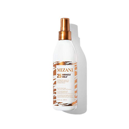 MIZANI 25 Miracle Milk Leave-In Conditioner | Leave in Heat Protectant Spray to Detangle & Hydrate Hair | For Curly Hair 1
