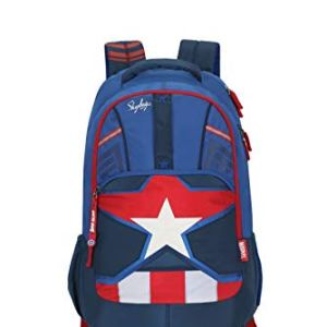 Skybags Marvel Blue Casual Backpack