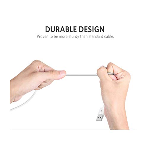 Plugtech DC-M02 Micro-USB to USB 2.0 A Charge and Sync Cable for Android Smartphones, Tablets & Other Devices, 1 Metre (White) 5