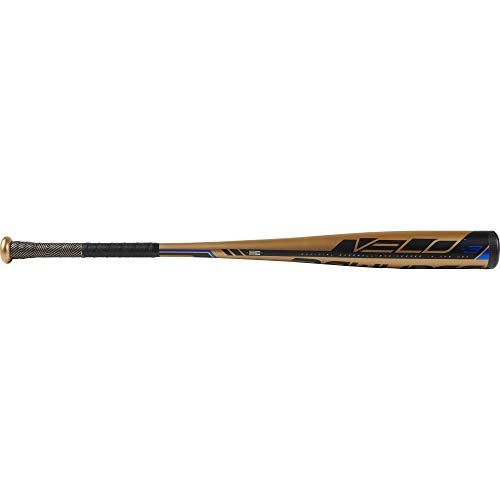 Rawlings 2019 Velo BBCOR Adult Baseball Bat (-3), 33.5 inch / 30.5 oz