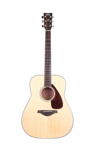 Yamaha FG700S Solid Top Acoustic Guitar, Natural