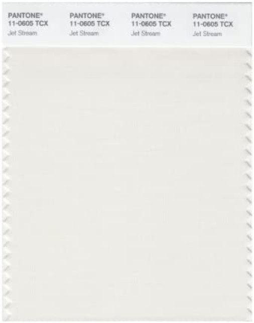 Pantone 11 – 0605 TCX Smart color swatch Card, Jet Stream by ...