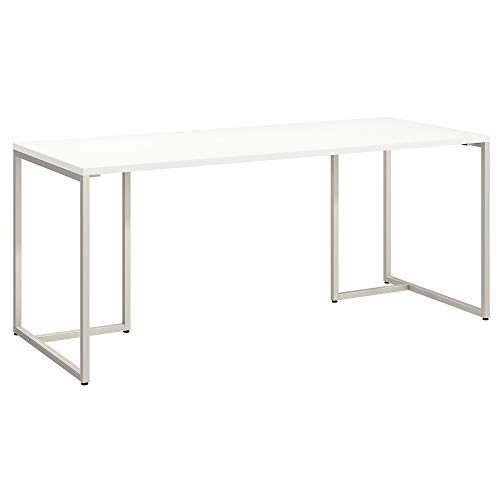 Office by kathy ireland Method 72W Table Desk in White