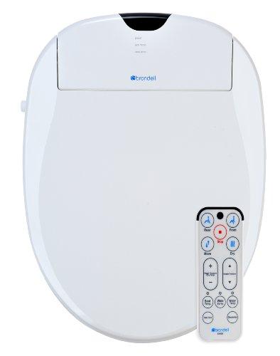 Brondell S1000-EW Swash 1000 Advanced Bidet Elongated Toilet Seat, White