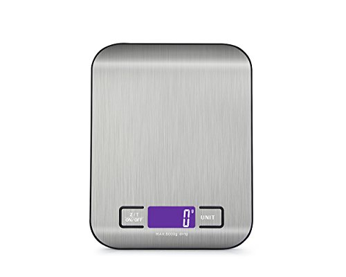 105kgx1g-Electronic-LCD-Weight-Scale-Libra-Stainless-Steel-Digital-Precision-Kitchen-Scale-Baking-Household-Cozinha-Scale-Balance-Black5kg