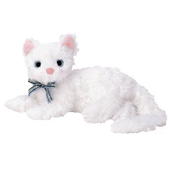 Ty Beanie Baby - STARLETT The White Cat [Toy]