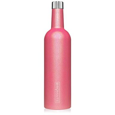 BruMate-Winesulator-25-Oz-Triple-Walled-Insulated-Wine-Canteen-Made-Of-Stainless-Steel-24-hour-Temperature-Retention-Shatterproof-Comes-With-Matching-Silicone-Funnel-Glitter-Neon-Pink