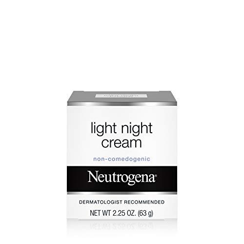 Neutrogena Light Facial Night Cream, 2.25 Oz.