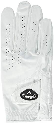 Callaway Golf Men's Dawn Patrol 100% Premium Leather Golf Glove, Worn on Left Hand, Medium