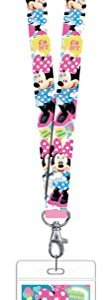 Disney 85929 Minnie Mouse Pink Lanyard Novelty and Amusement Toys