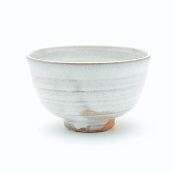 Hagiyaki tea bowl
