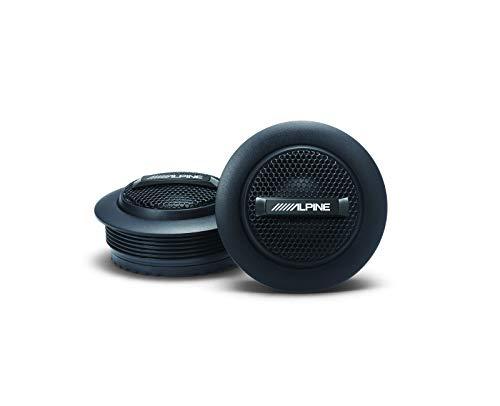 Alpine S-S10TW, S Series 1' Component Dome Tweeter - 240W