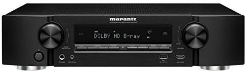 Marantz NR1506 5.2 Channel Network Audio/Video Surround Receiver with Bluetooth and Wi-Fi