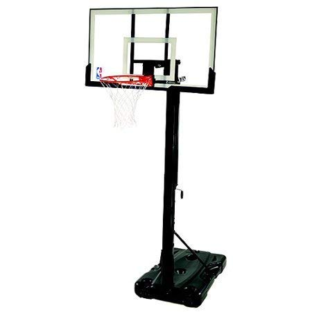 Spalding- 54' Polycarbonate Backboard NBA Portable Basketball System/Hoop -