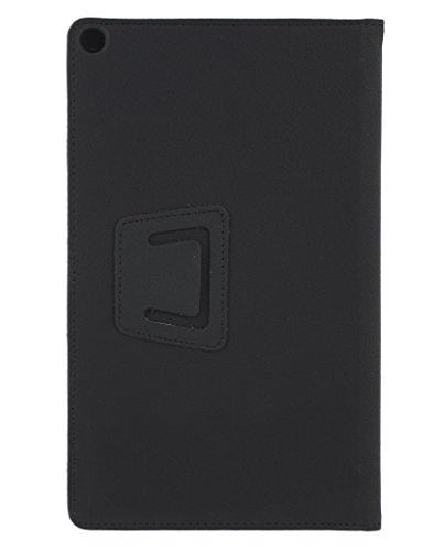 CELZO Tablet Flip Cover Case for Iball Slide Cuboid Tablet (8.0) - (Black) 4