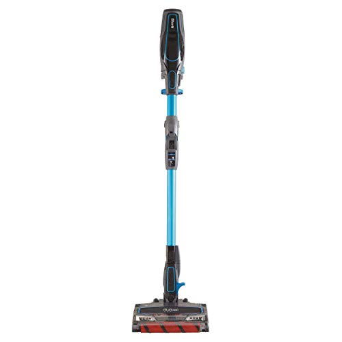 Shark ION F80 Lightweight Cordless Stick MultiFLEX, DuoClean for Carpet & Hardfloor, Hand Vacuum Mode, and (2 40min) Removable Batteries (UF280), Blue