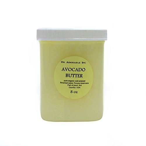 Avocado Butter Pure Organic Refined Raw by Dr.Adorable 8 Oz